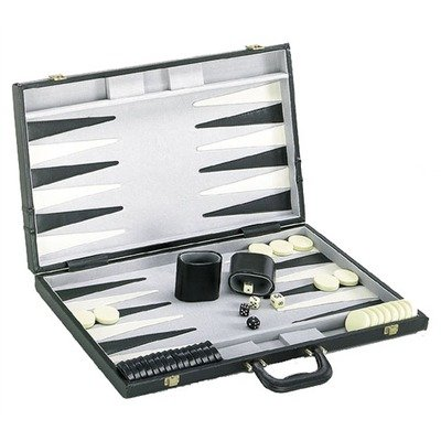 Backgammon Game Set with Deluxe Case by CHH