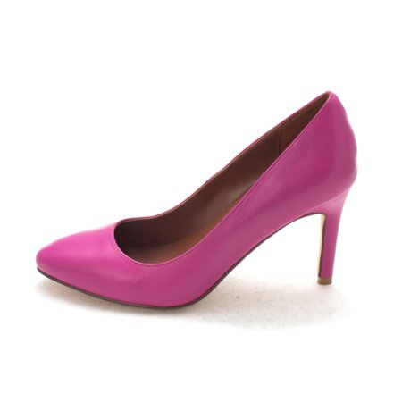 0093fc88fe1 Cole Haan Womens 14A4338 Closed Toe Classic Pumps, Fuchsia Red, Size ...