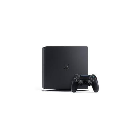 Sony PlayStation 4 Slim, 1TB Gaming Console, Black, 3002189