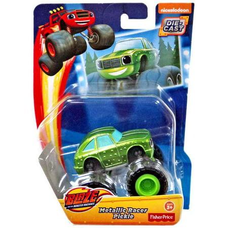 Blaze & the Monster Machines Metallic Pickle Diecast (Blaze And The Monster Machines Pickle Power)