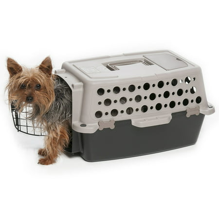 Pet Champion Pet Dog Carrier, Brown/Black - Leather Pet Carrier