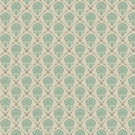 "Waverly Inspirations Cotton Duck 54"" Foulard Spa Fabric, per Yard"