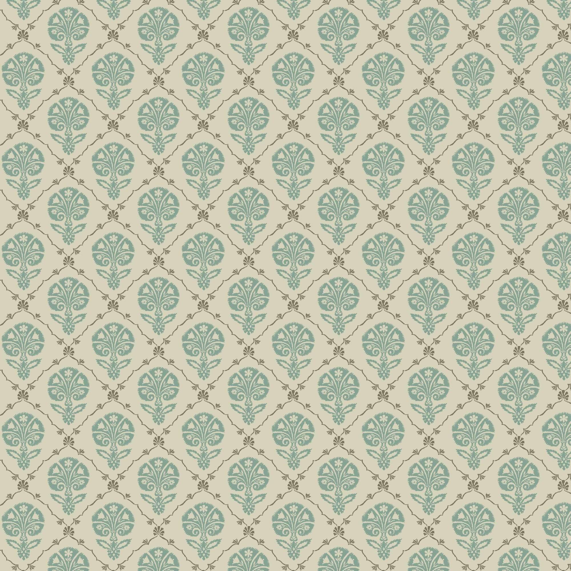 Waverly Inspirations FOULARD SPA 100% Cotton duck fabric, Quilting fabric, Home Decor ,54'', 220GSM