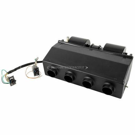 Air Evaporator (Universal Under Dash AC Evaporator Underdash A/C Air Conditioner Add On)
