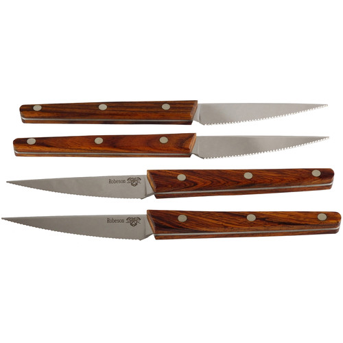 Ontario Knife Company Robeson Steak Knives Set (Set of 4)
