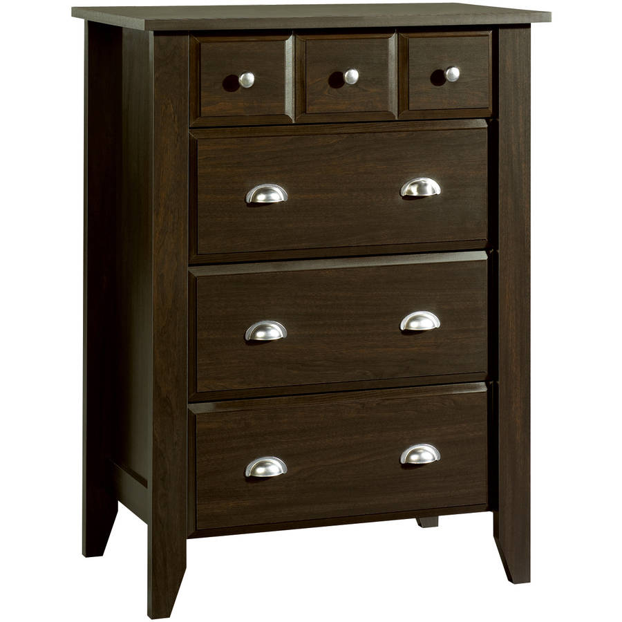 Child Craft Relaxed Traditional 4 Drawer Chest, Jamocha