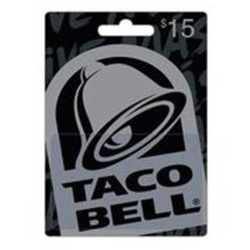 Taco Bell $15 Gift Card - Walmart.com