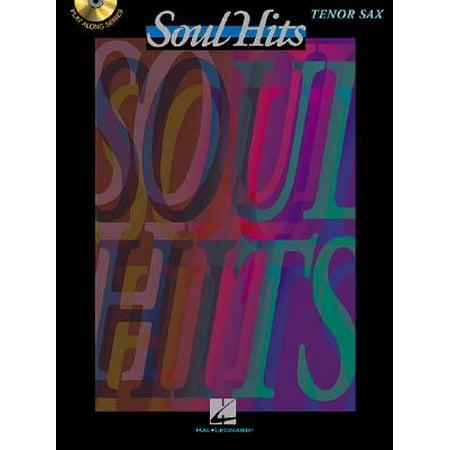 Hal Leonard Play-Along Soul Hits Book with CD Trombone Tenor Saxophone