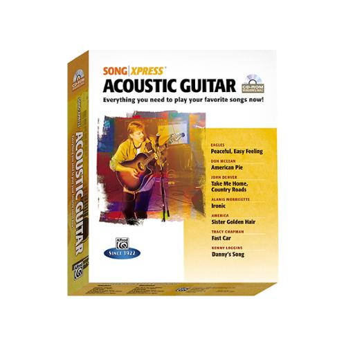 Alfred SongXpress Acoustic Guitar (CD ROM)