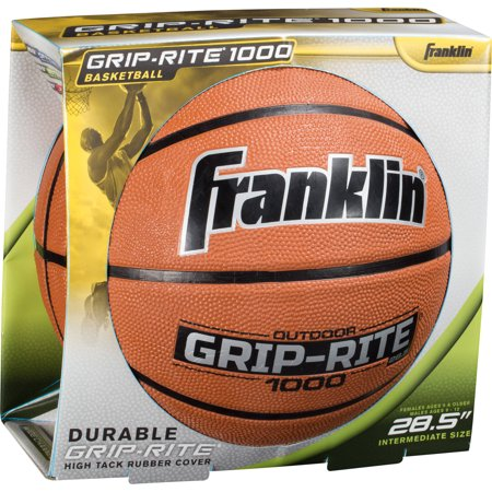 Franklin Sports 28 5  Grip Rite Rubber Basketball