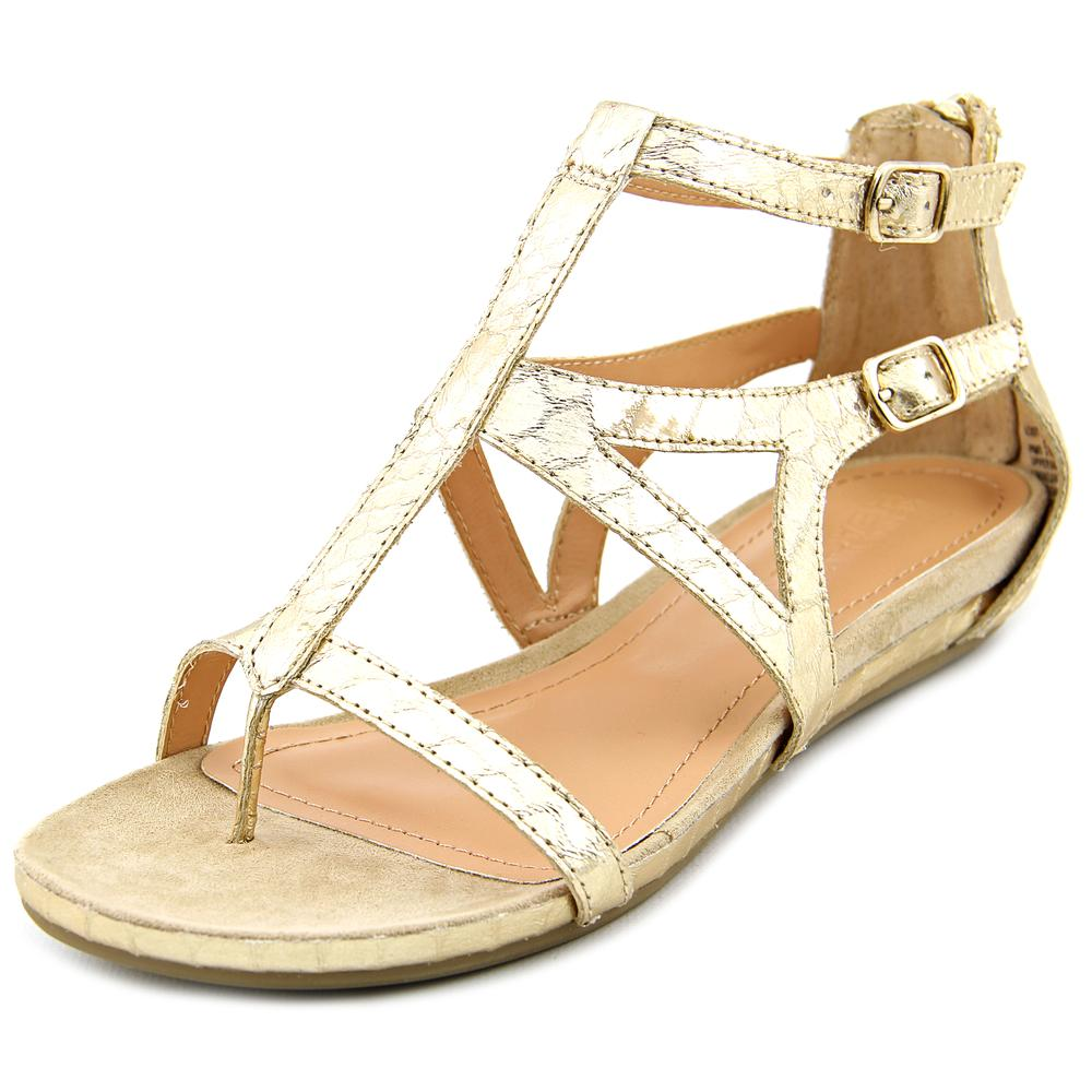 Womens Kenneth Cole Lost Time Dress Gladiator Sandals, Light Gold