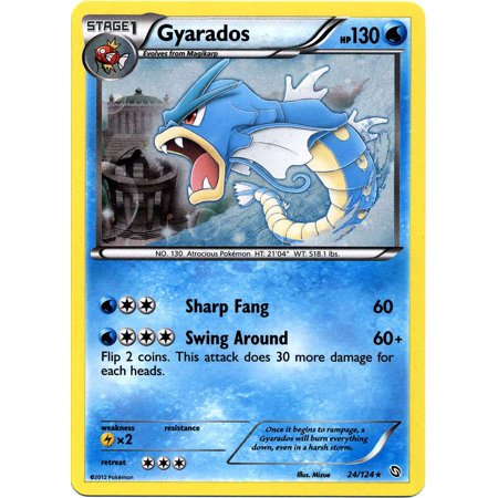 Pokemon Black & White Promo Single Card Holo Rare Gyarados (Best Starter Pokemon In Black And White 2)