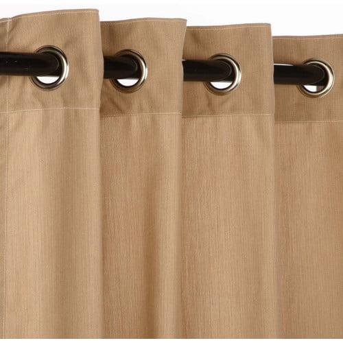 Pawleys Island Sunbrella Outdoor Single Curtain Panel