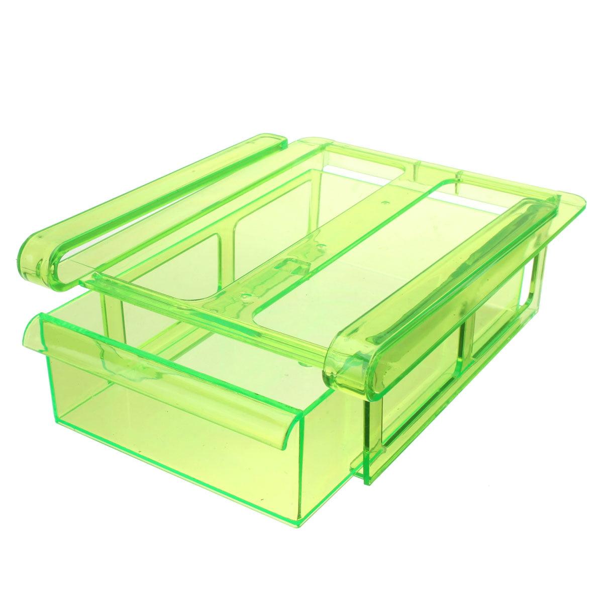 Meigar Slide Kitchen Fridge Freezer Space Saver Organizer Drawer Holder Storage Box