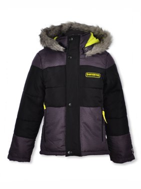 Skechers Boys' Paneled Trim Insulated Jacket