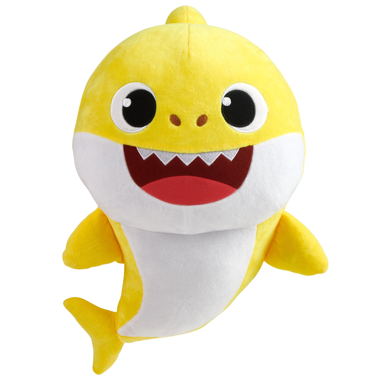 Pinkfong Baby Shark Official 18 inch Plush - Baby Shark - By WowWee -  Walmart.com - Walmart.com