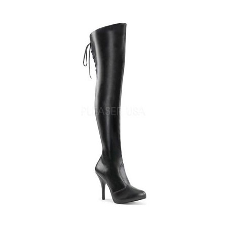 Thigh High Pleaser Boots (Women's Pleaser Pink Label Eve 312 Thigh-High)