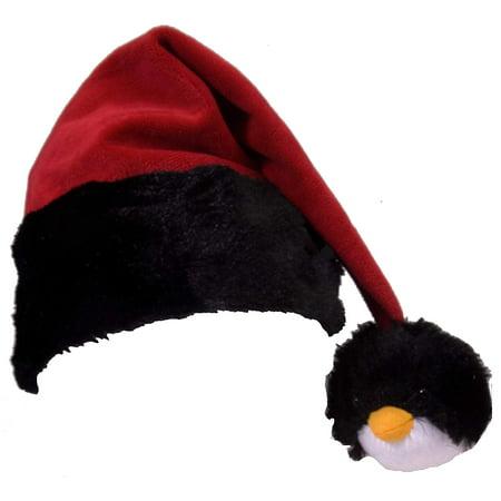 Wild Republic Penguin Tassel Santa Hat