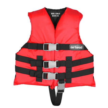 Universal Adult Personal Flotation Device, Red