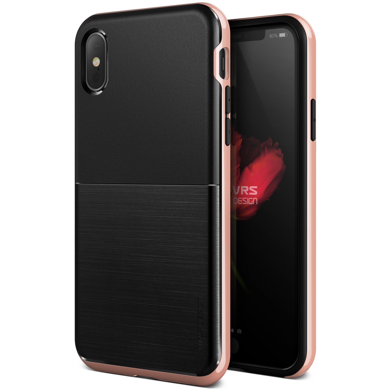 Apple iPhone X Case, VRS Design [High Pro Shield] Slim TPU Cover with Rugged Protection
