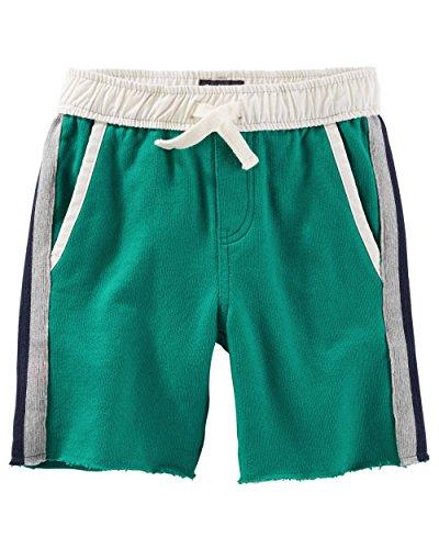 OshKosh B'gosh Little Boys' Green French Terry Shorts (2-Toddler)