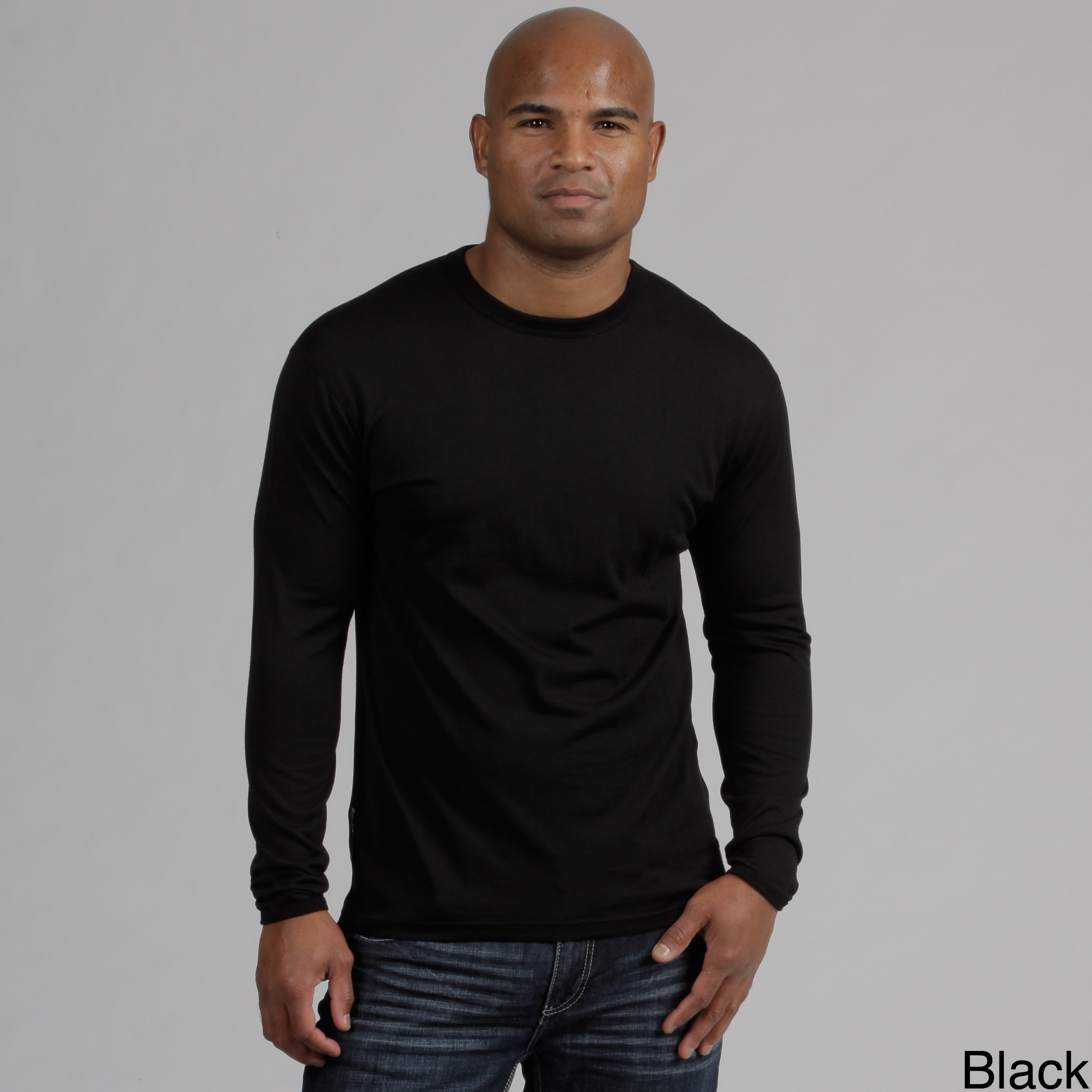 Minus33 Merino Wool Clothing  Men's 'Ticonderoga' Merino Wool Lightweight Crew Base Layer Top