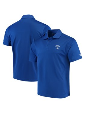3c811206 Product Image Los Angeles Dodgers Under Armour Performance Polo - Royal