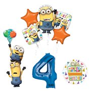 Despicable Me 3 Minions Stacker 4th Birthday Party Supplies