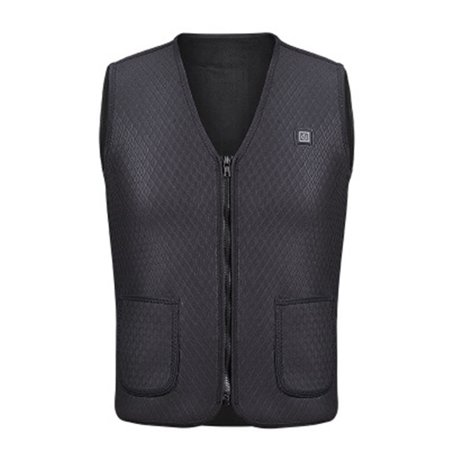 Electric USB Heated Warm Vest Men Women Heating Coat Jacket Clothing for Winter Motorcycle Travelling Skiing