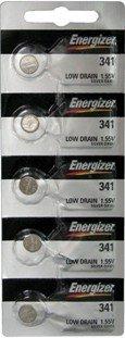 Energizer 341 (SR714SW) Silver Oxide Watch Battery. On Tear Strip by Energizer