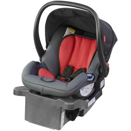 phil&teds Alpha Infant Car Seat, Black/Red