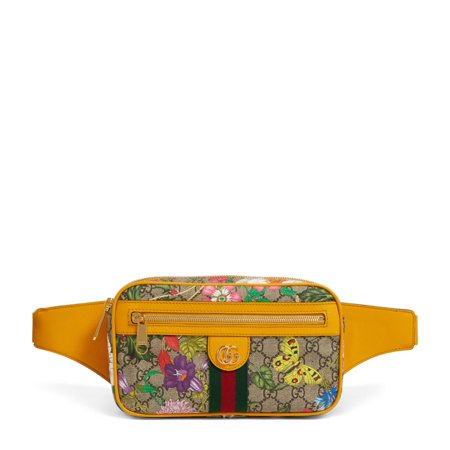 Gucci Ophidia GG Flora Belt Bag, Brand Size Medium
