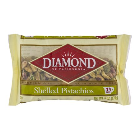 Diamond Of California Shelled Pistachios  6 Oz