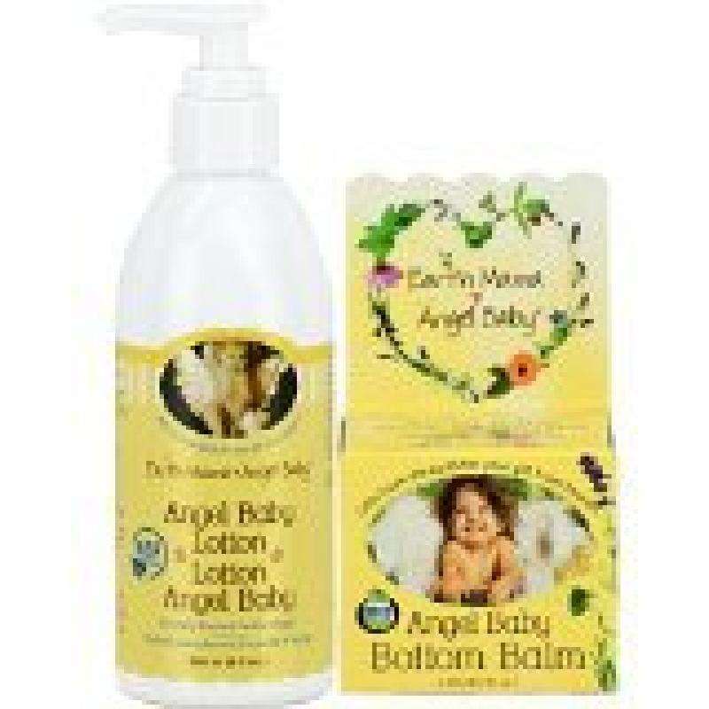 Earth Mama Angel Baby Bottom Balm, 2-Ounce Jar PLUS Angel...