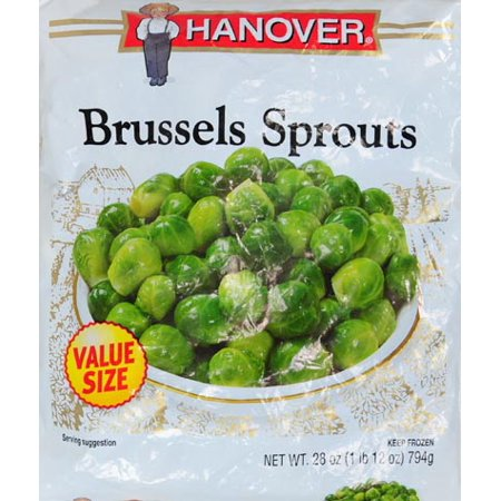 Hanover Foods Brussels Sprouts, 28 oz - Walmart.com