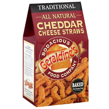 Geraldine's Traditional Cheddar Cheese Straws, 4.5 oz (Pack of 6)](Halloween Cheese Straws)