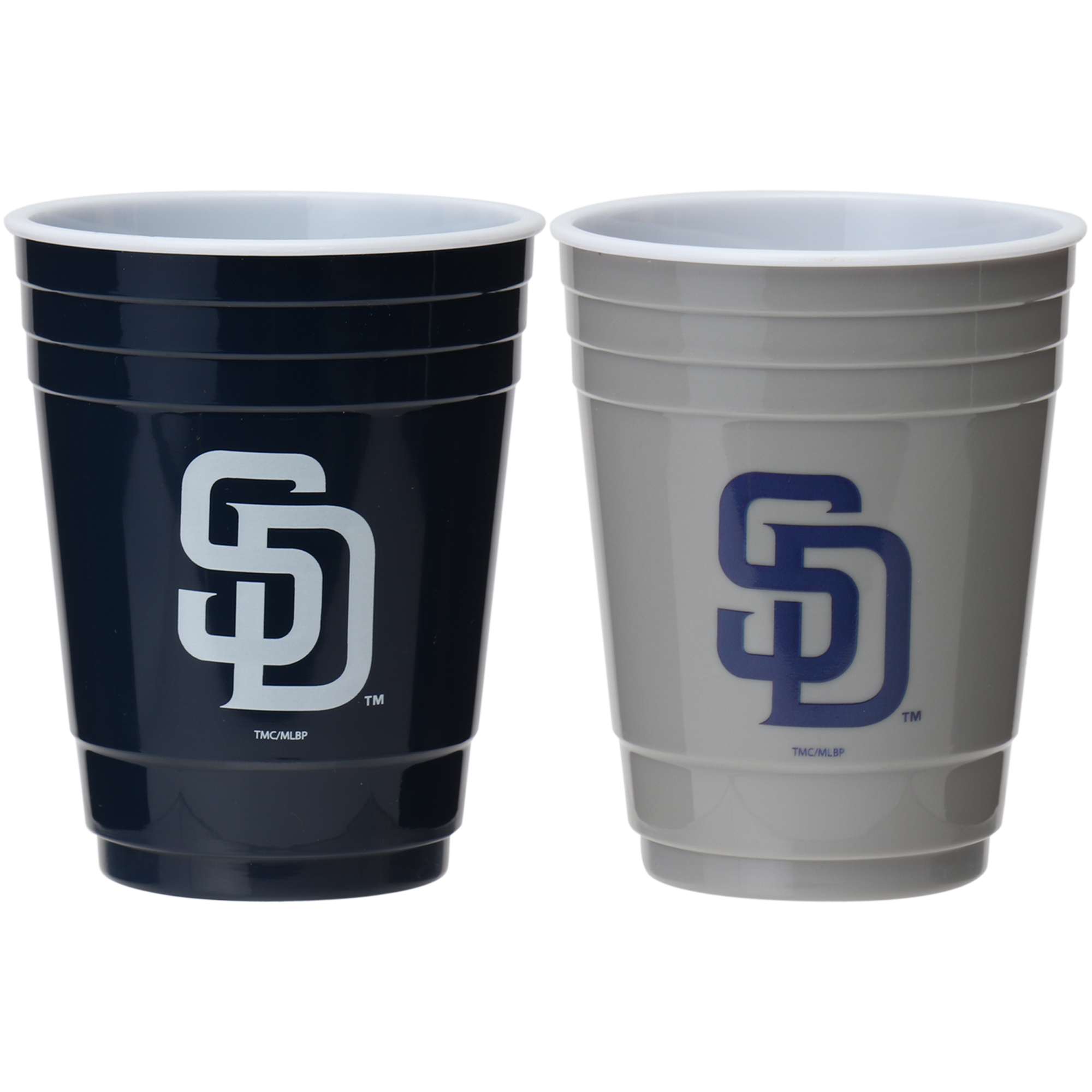 San Diego Padres Two-Pack Home And Away Plastic Cup - No Size