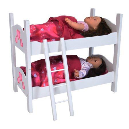 Bunk Bed For Twin Dolls Fits 18 Inch Dolls Made To Fit 18 Inch
