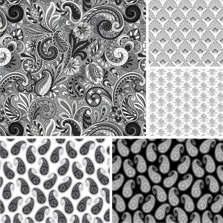 (David Textiles, Inc. Paisley Sorbet Collection 44