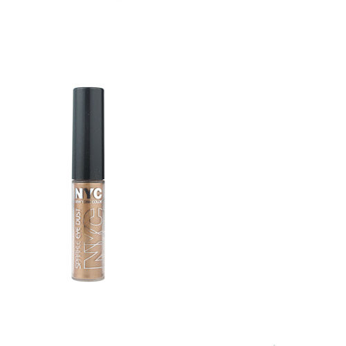 NYC New York Color Sparkle Eye Dust, Amber Glitz