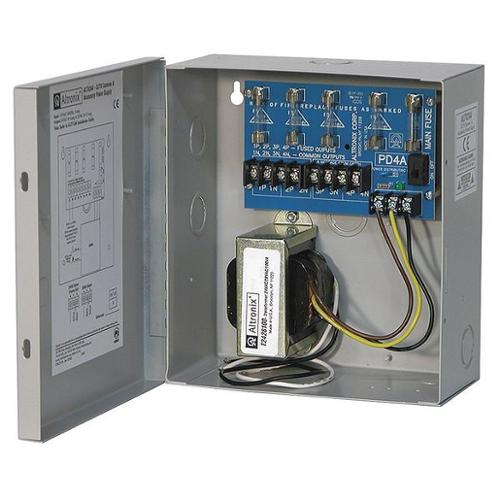 ALTRONIX ALTV244 Power Supply 4 Fuse 24Vac @ 4A
