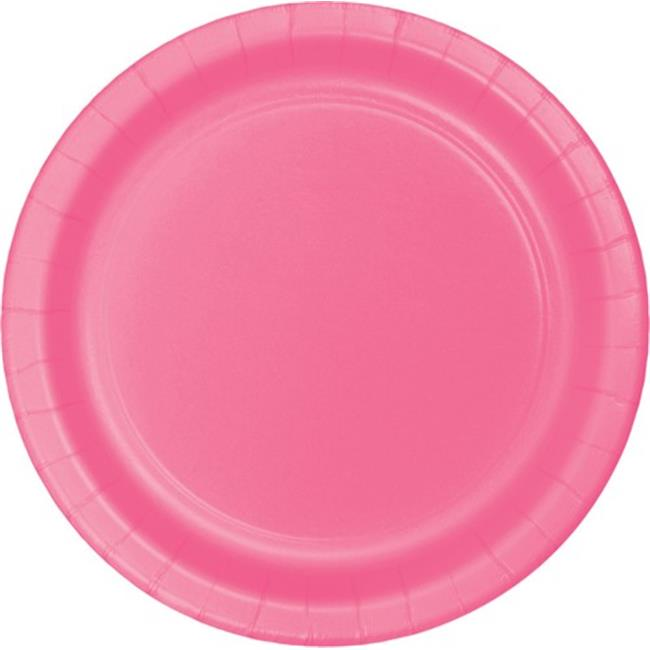Hoffmaster Group 553042 9 in. Dinner Plate, Candy Pink - 8 per Case - Case of 12