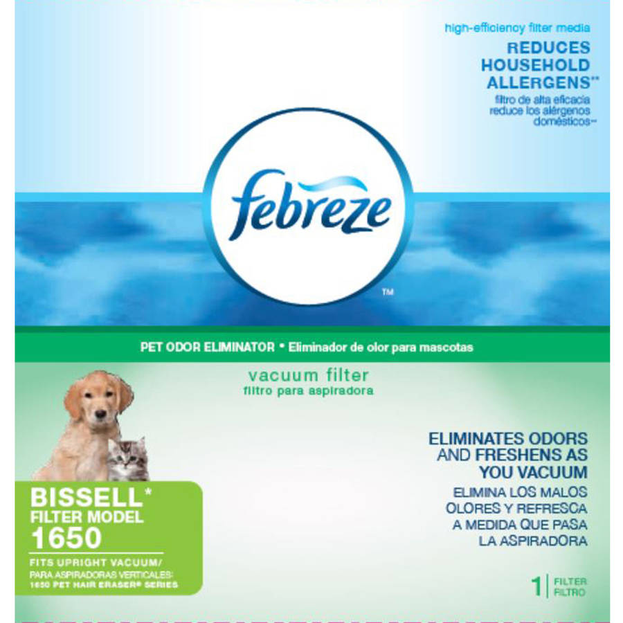 BISSELL Pet Hair Eraser Febreze Filter Pack