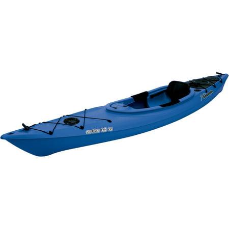 Sun Dolphin Aruba 12 Sit-in 12 Kayak Blue, Paddle Included