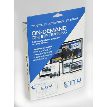 It University Online 4 Courses  Includes Office 365 2013  Resume Building  Internet Security Windows 10