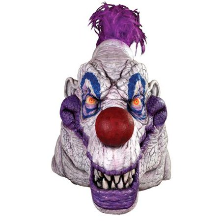 Killer Klowns from Outer Space Mask Adult Costume - Killer Klowns From Outer Space Costume