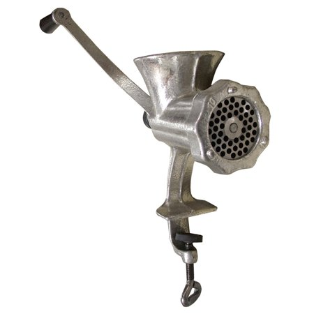 Omcan Manual Meat Grinder L/D Tin Plated -  #10 Clamp (Meat Grinder Clamp)