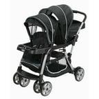 Contours Option Tandem Stroller By Kolcraft Ruby