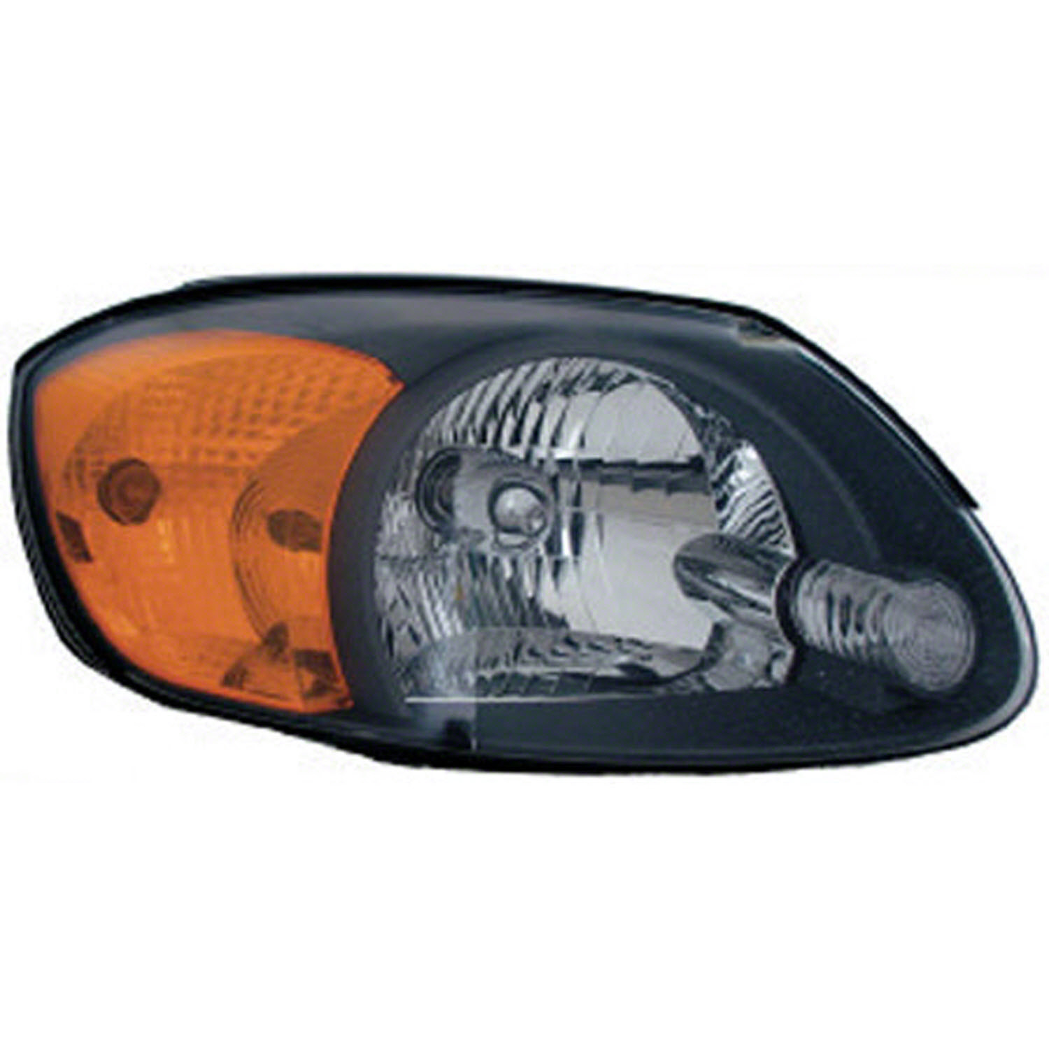2003-2005 Hyundai Accent  Aftermarket Passenger Side Front Head Lamp Assembly 9210225550