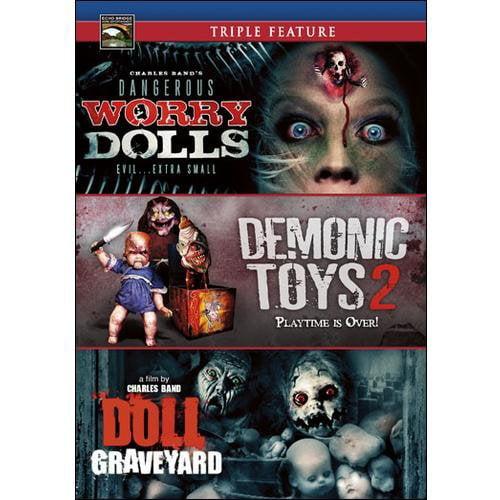 Deadly Dolls Triple Feature: Demonic Toys 2 / Doll Graveyard / Dangerous Worry Dolls (Widescreen)